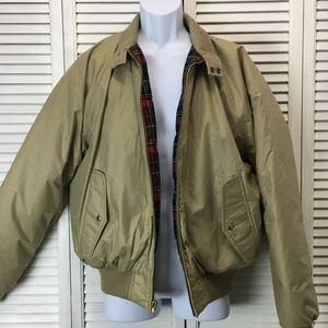 Polo Ralph Lauren down bomber jacket tan large